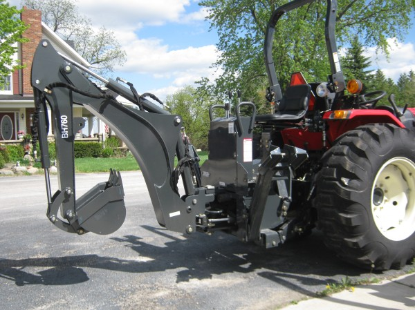 NEW Terra Force 7-1/2 ft Backhoe w/16 Bkt- 3pt