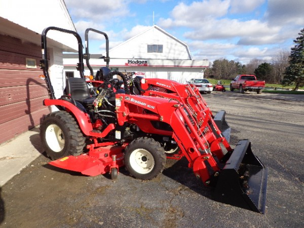 NEW 24 hp Tractor w/ Loader & Belly Mower- 4WD