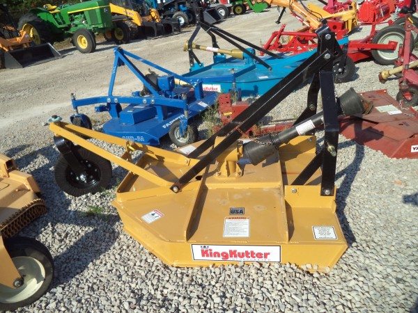 NEW King Kutter 4ft Rotary Cutter