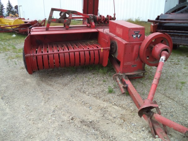 Used MF12 Square Baler