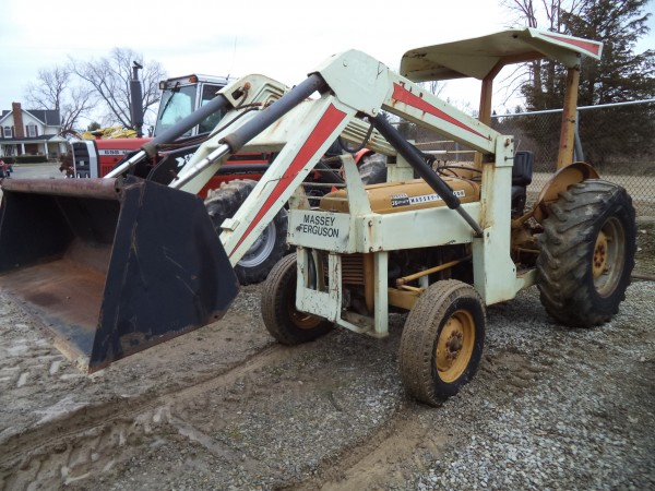 Used MF 35 Tractor w/Loader- 2WD