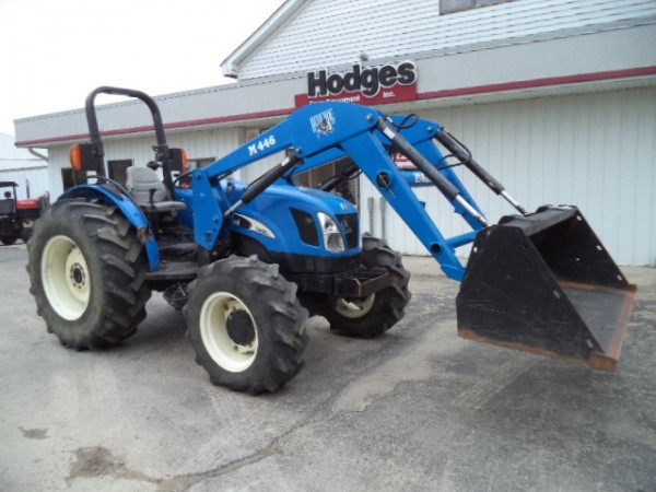 Used NH TN60A Tractor w/ Loader- 4WD
