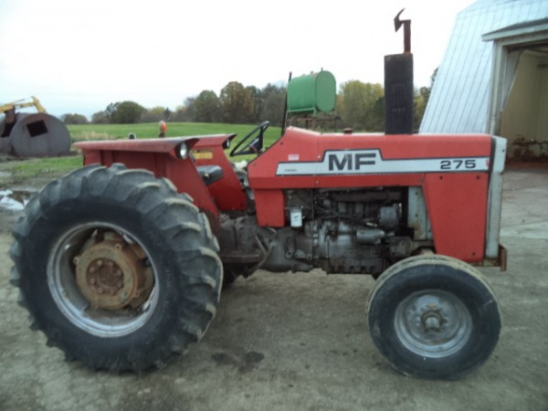 Used MF 275 Tractor- 2WD
