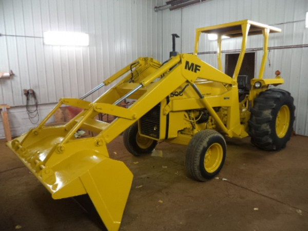 Used MF 50C Tractor w/Loader- 2WD
