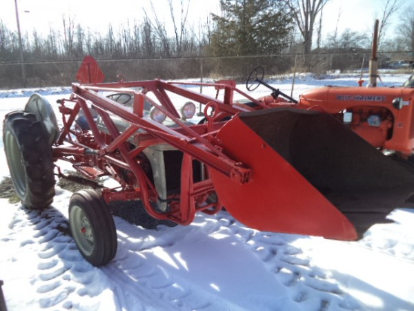 Used Ford 8N Tractor w/Loader- 2WD