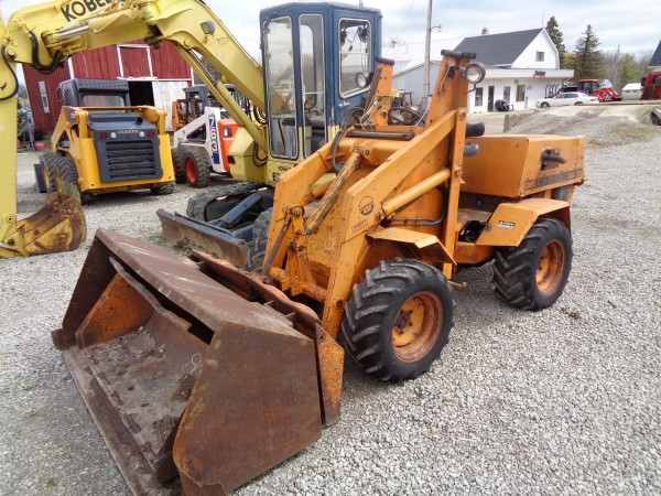 Used Case 430 Loader- 4wd