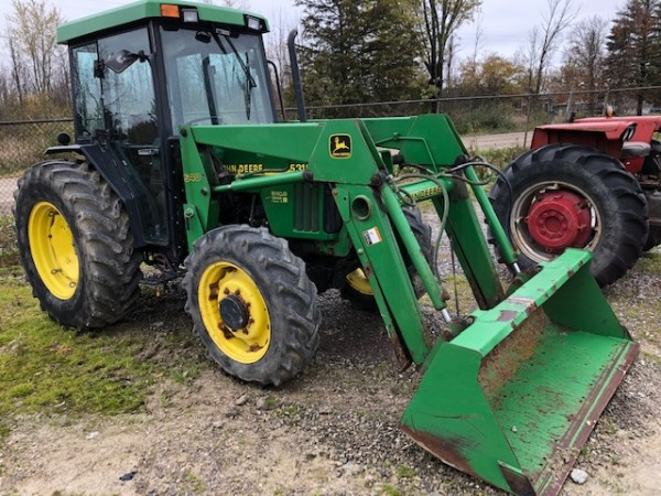 Used JD 5310 Cab Tractor w/Loader- 4WD