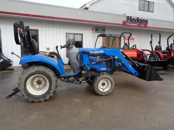 Used New Holland Boomer 24 Tractor w/Loader- 4WD
