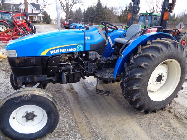 Used NH Workmaster 75 Tractor- 2WD