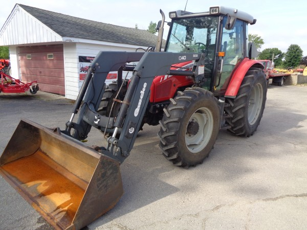 Used MF 5455 Cab Tractor w/Loader- 4WD