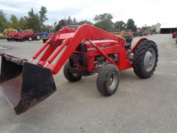 Used MF Industrial 20 w/Loader-2WD