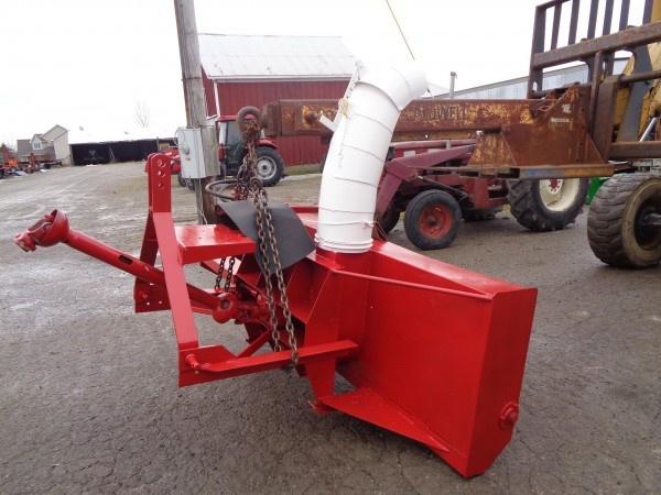 Used 3pt Snowblower w/hydraulic hood