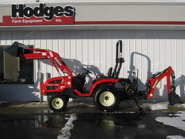 Branson 2400h w/ Loader & Backhoe