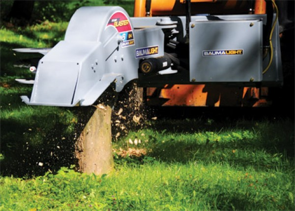 New BaumaLight S24 Stump Grinder for Skid steer