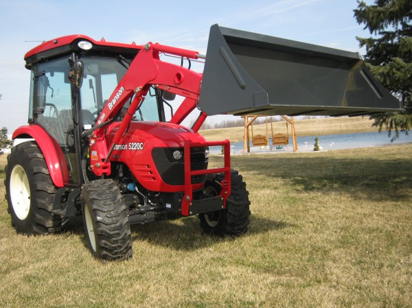 Branson 5220C Cab Tractor & NEW BL200 Loader-  4wd